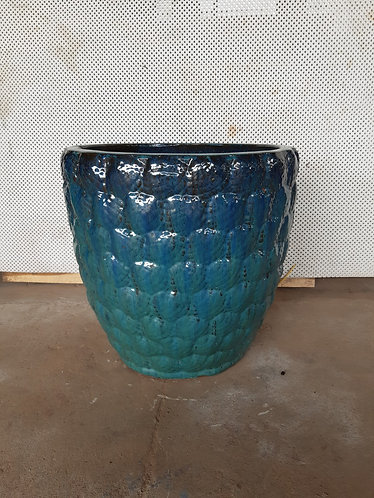 72142 Shell Pattern Aqua