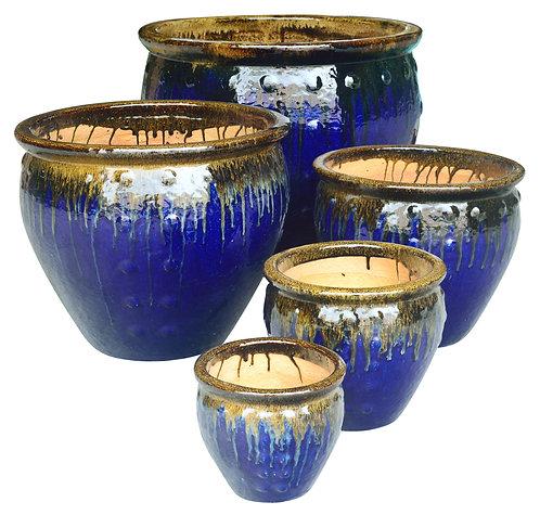 72138 Stud Planter Latte Blue