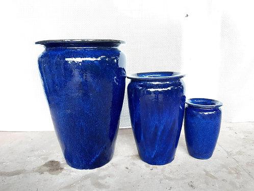 72107 Medium Vase Blue