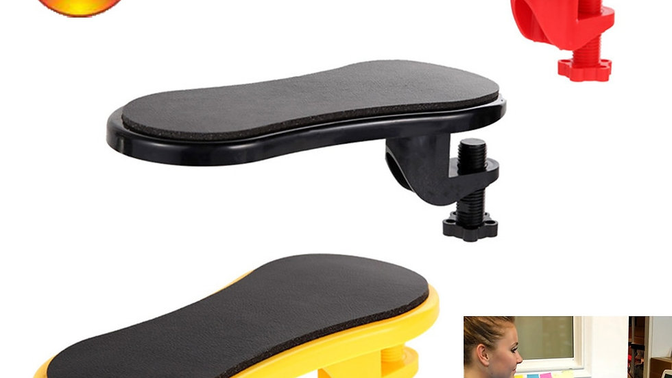Attachable Armrest Pad Desk Computer Table Arm Support Mouse Shoulder