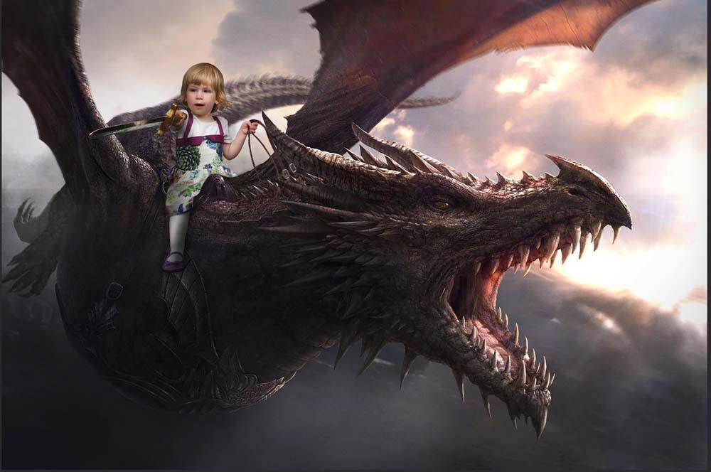 Artemis riding dragon.jpg