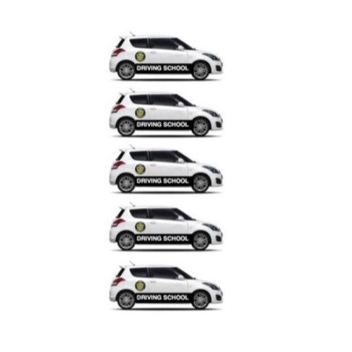 5 x 1 hr Driving Lesson Gift Voucher