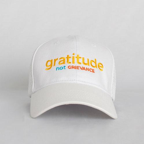 Gratitude Not Grievance Hat