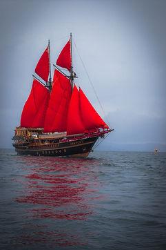 Caico Jack, the pirate ship