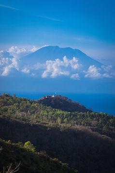 Agung volcano, jjust about to erupt