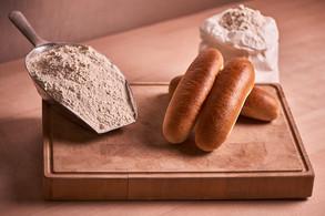 Hot-Dog Brot einzeln