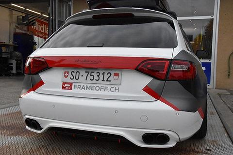 Audi FRAMEOFF