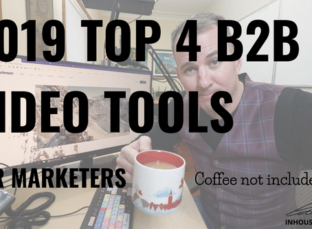 2019 Top Video Tools for B2B Software Companies