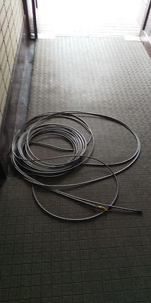 昇降機のワイヤーロープ