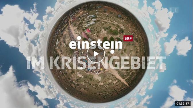 """90 Min: """"Einstein"""" im Krisengebiet - wir helfen, was bringt´s?"""