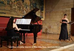 Veronique Chevallier et Miho Nitta Broadway