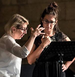 Masterclass Irène Kudela