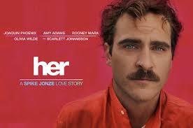 """PROJECTION du FILM """"HER"""" /  le jeudi 4 juin, Cinéma Grand Ecran à Libourne"""