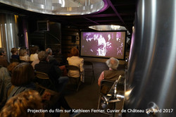Projection K.F.Cuvier Chateau Soutard