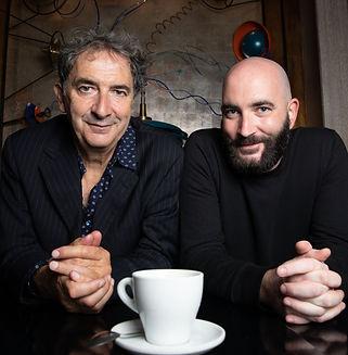 François Morel et Valentin Morel