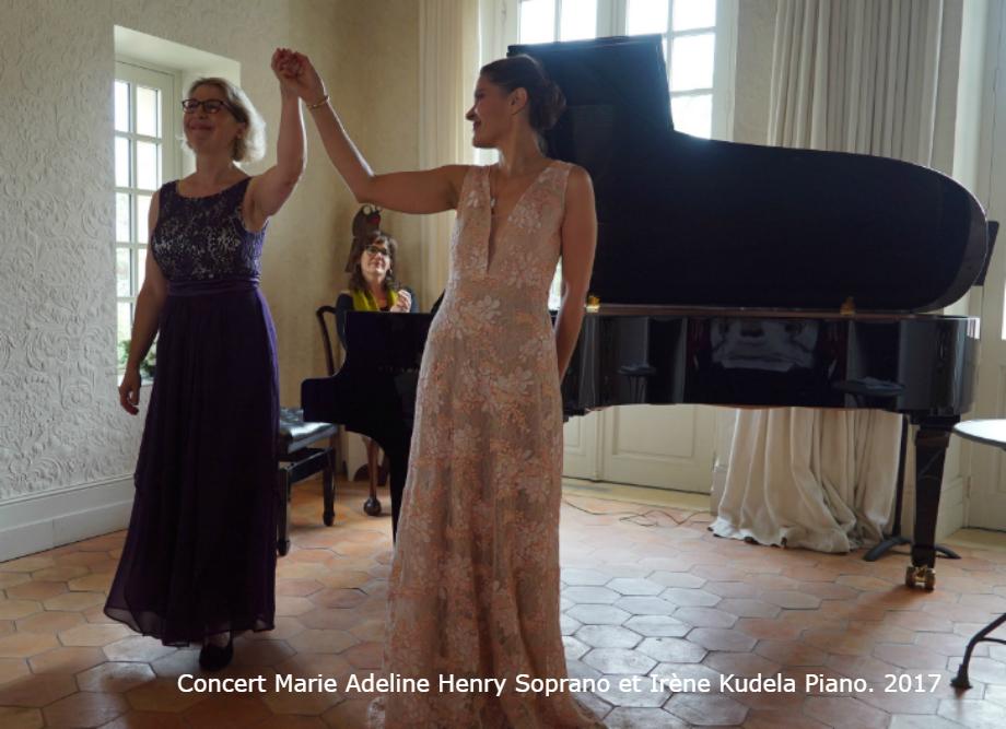 Concert Irene Kudela et Marie Adeline Henry