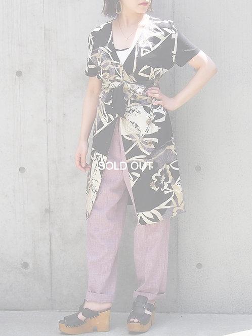 RESORT PATTERN 2WAY DRESS