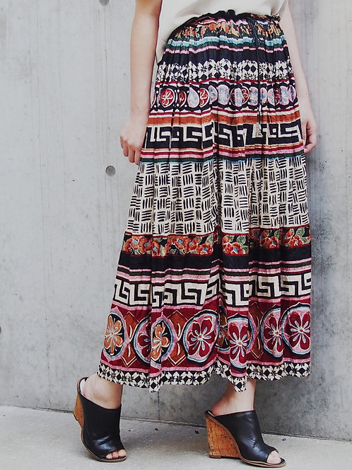 DESIGN PATTERN VOLUME SKIRT