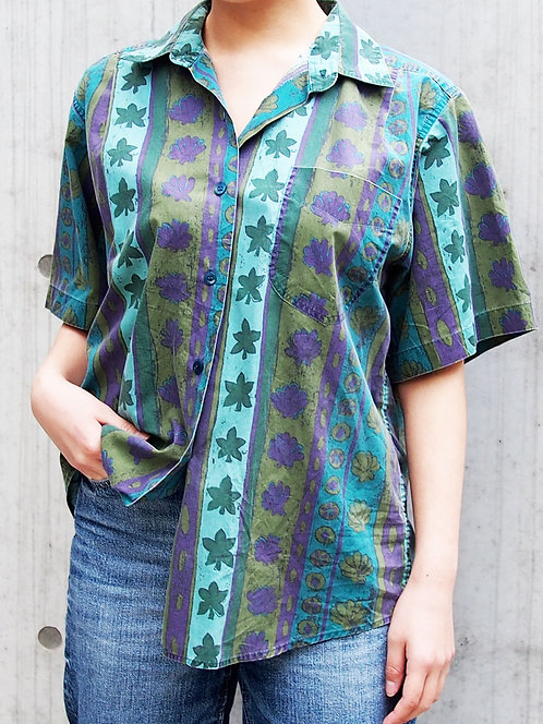 ETHNIC PATTERN OVER SHIRT