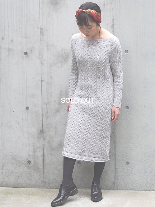 RALPH LAUREN CABLE KNIT DRESS
