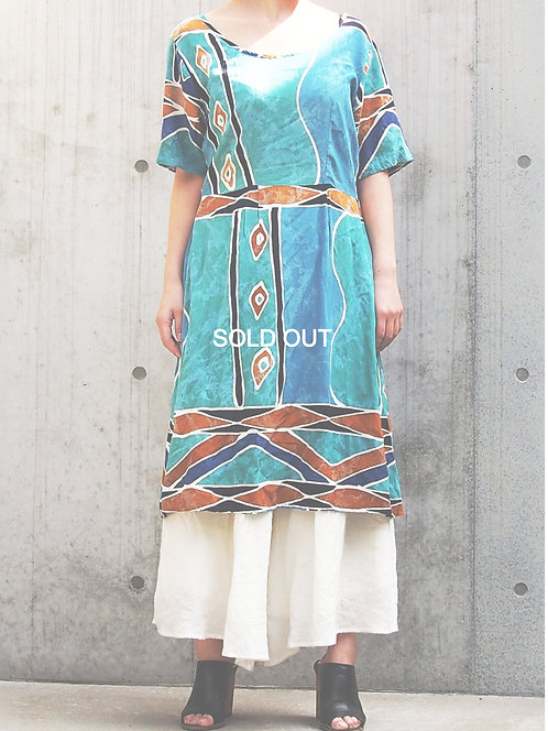 ETHNIC STYLE VINTAGE DRESS