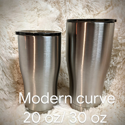 Design your own- 30 0z modern curve