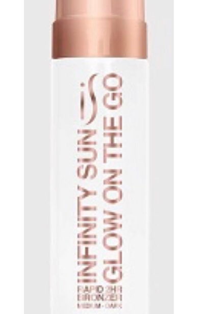 NEW!! MOUSSE - GLOW ON THE GO RAPID BRONZE MOUSSE
