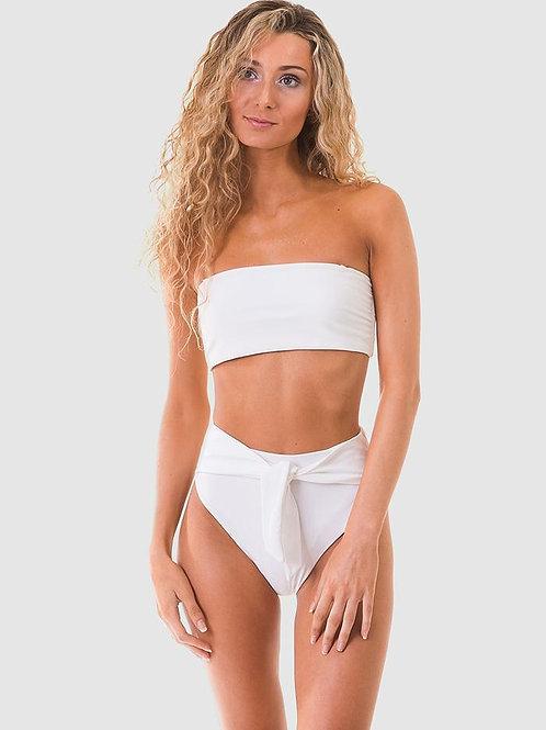 RH Swimwear  - Bandeau Bikini Top - white