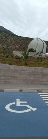 Demarcacion Estacionamientos Templo Bahaí