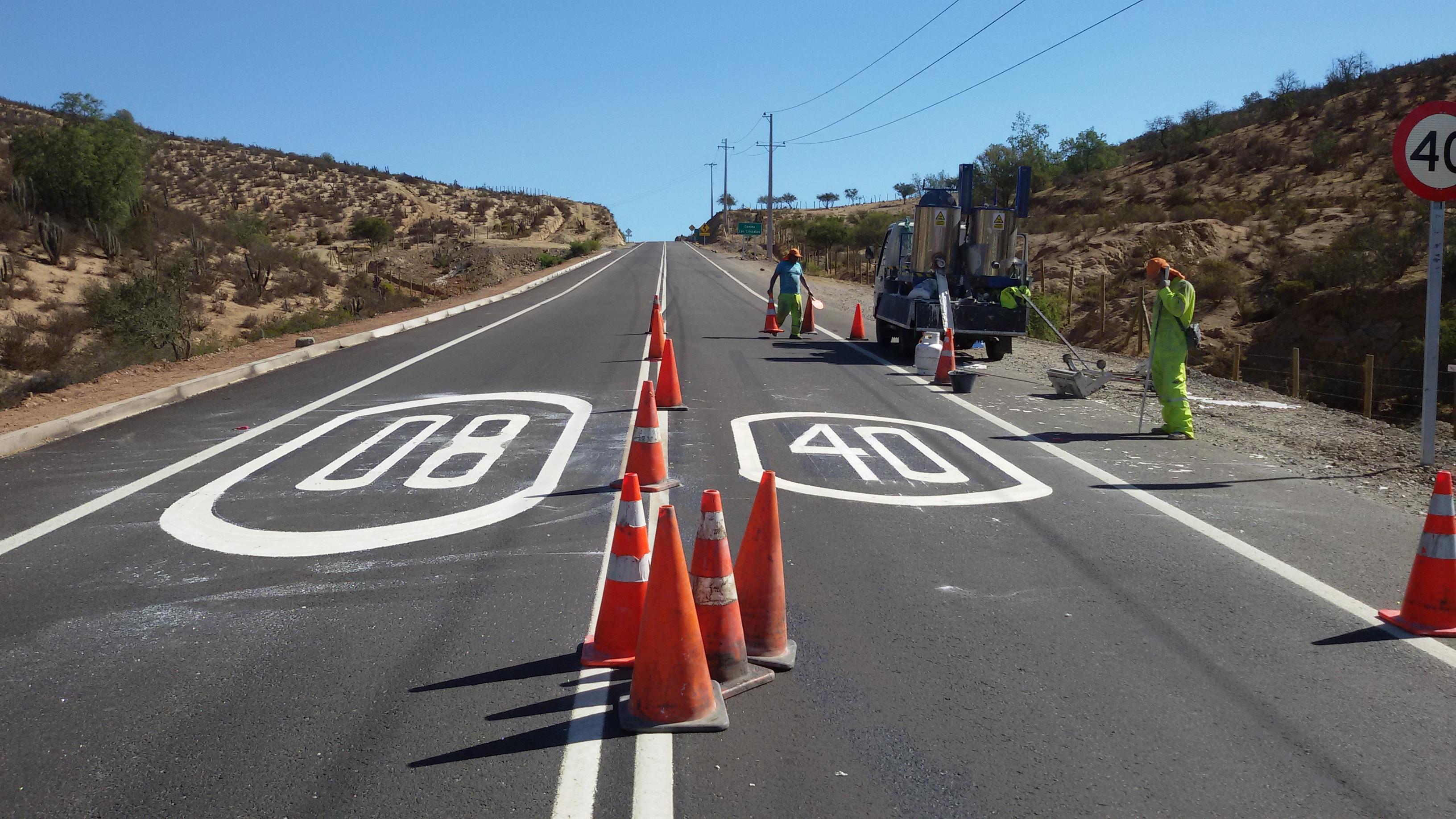 Demarcacion Vial Chile
