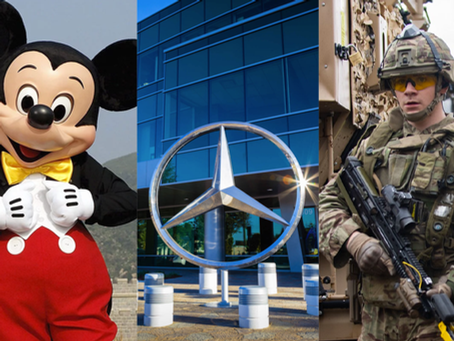 ¿Qué tienen en común Disney, Mercedes-Benz y las FFAA británicas?