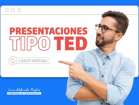 Curso Virtual: Presentaciones tipo TED