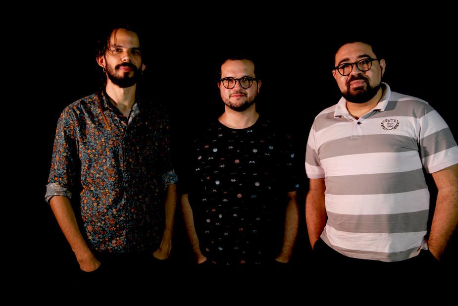 Salomão Soares, Paulinho Vicente e Thiag