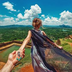 the-ancient-city-of-Sigiriya-in-Sri-Lanka-with