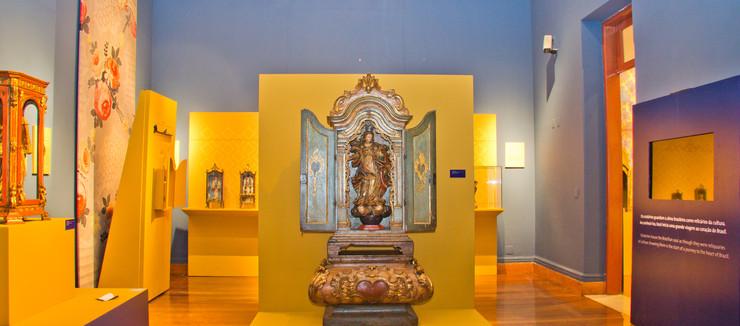 Exposição Oratórios reliquias do barroco Brasileiro - foto: Kevin