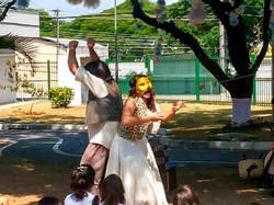 A briga da oFestival Cultura & Cidadaniança e do tatu_crédito Lucilene Dias