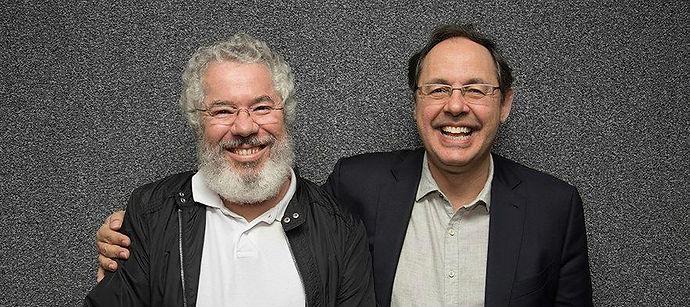 Afonso Borges e Eduardo Giannetti - foto