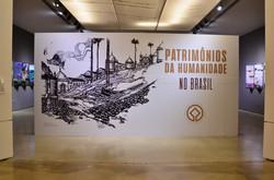Exposição: Patrimônios da humanidade