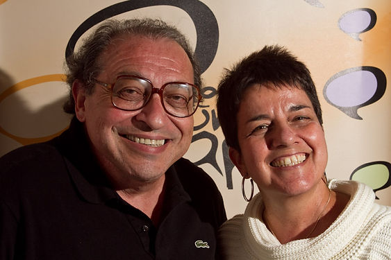 Ruy Castro e Heloisa Seixas - foto gabri
