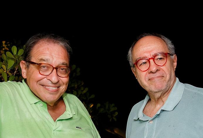 Ruy Castro e Sergio Augusto - credito  D