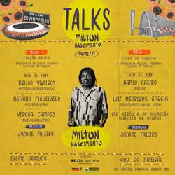 Talks com Milton Nascimento