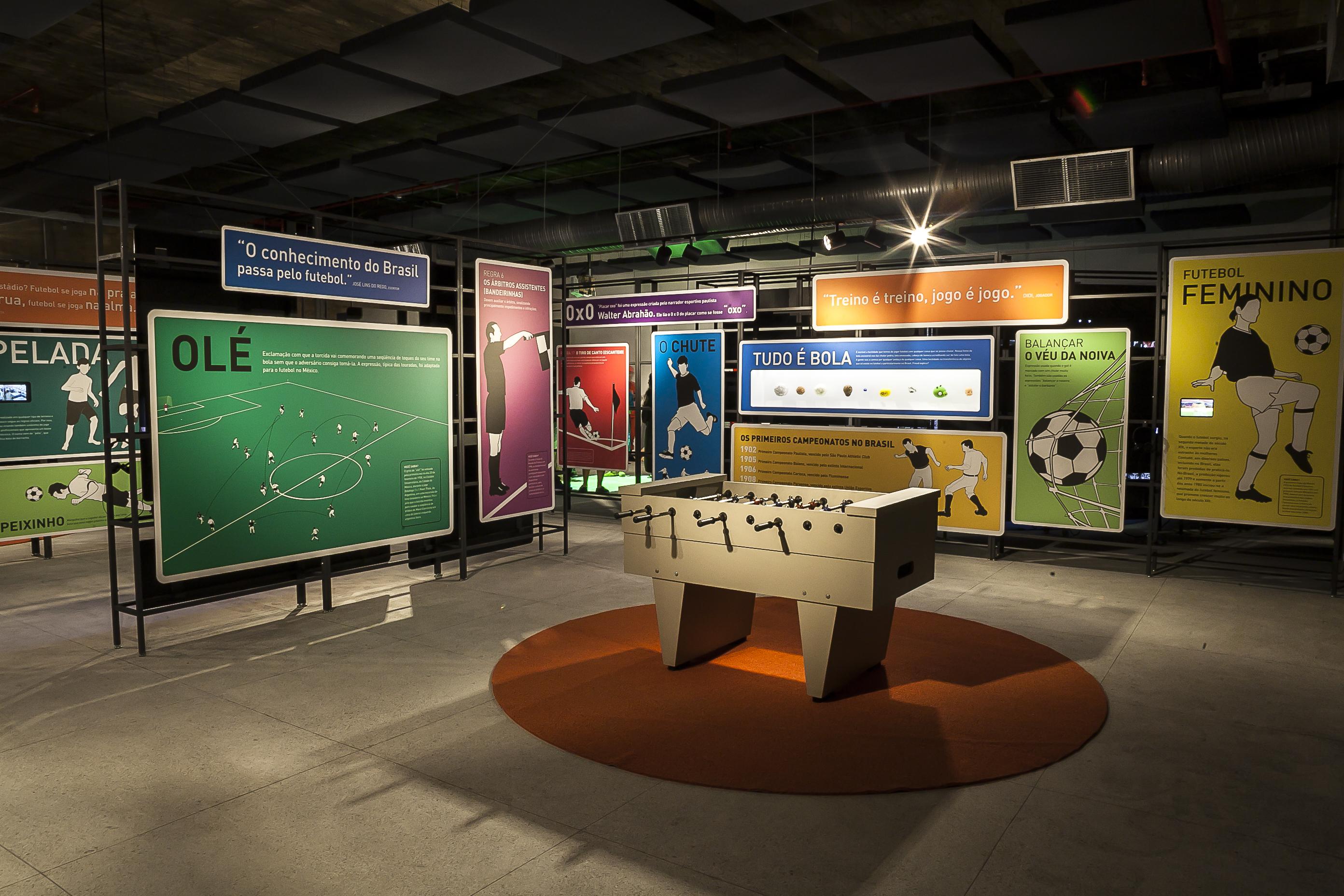 Museu do Futebol na área