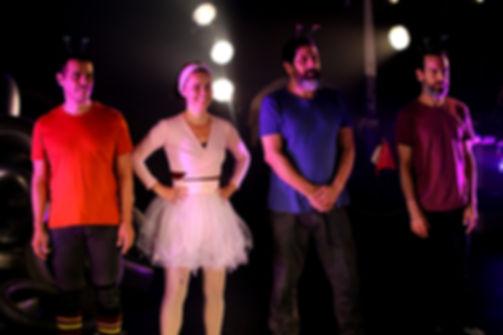 Gustavo, Susana, Cesar e Marcelo - Guga