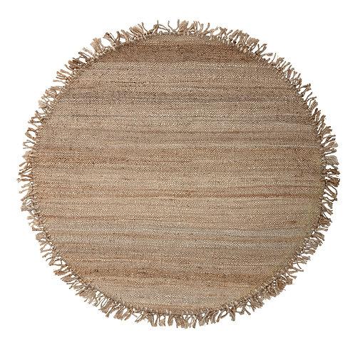 Alfombra circular natural