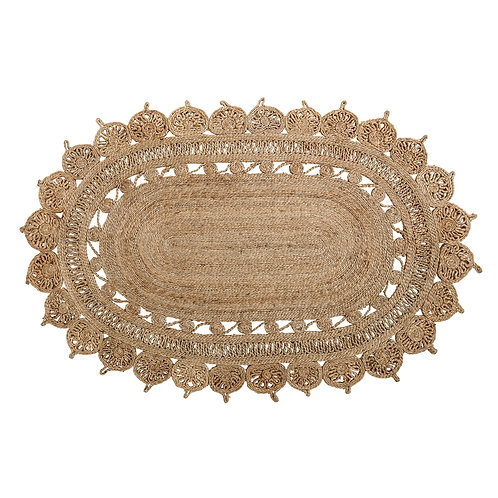 Alfombra natural OVAL