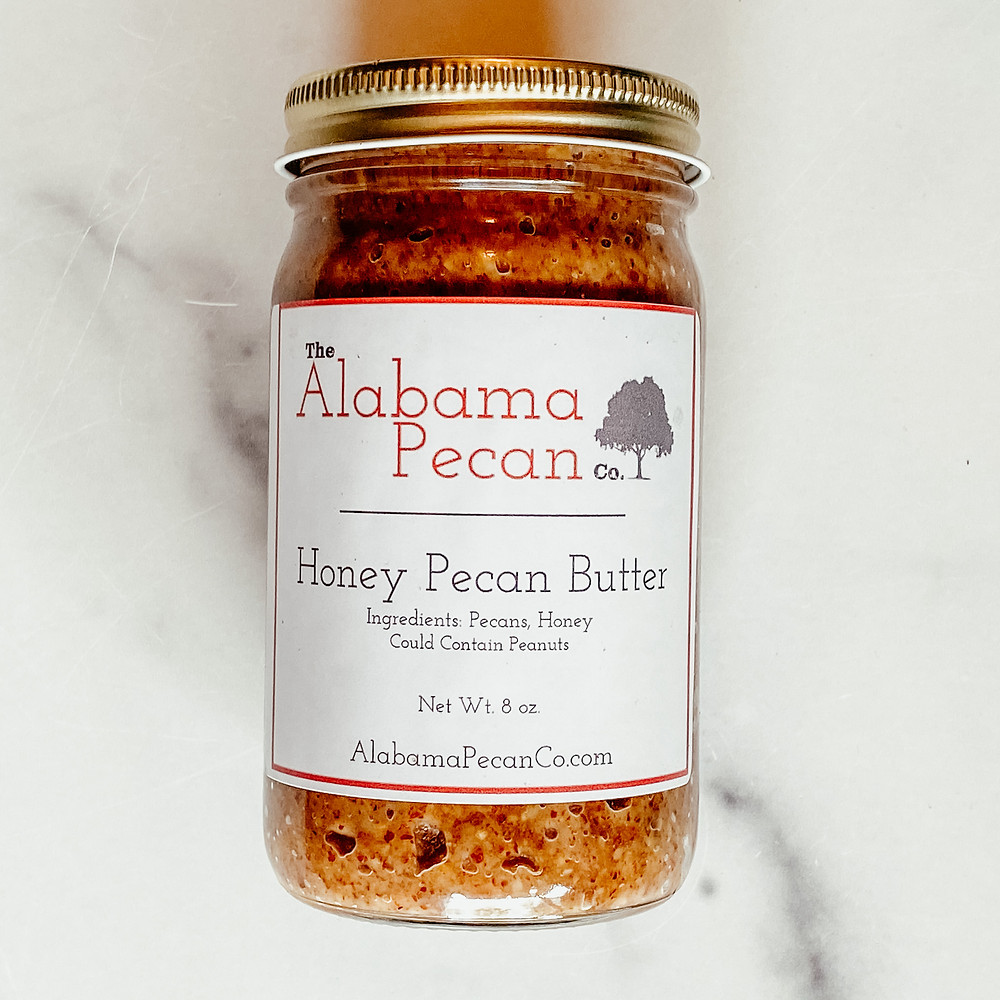 all-natural preservative free honey pecan butter