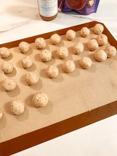 homemade buckeye truffles