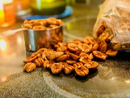 Perfectly Roasted Pecans