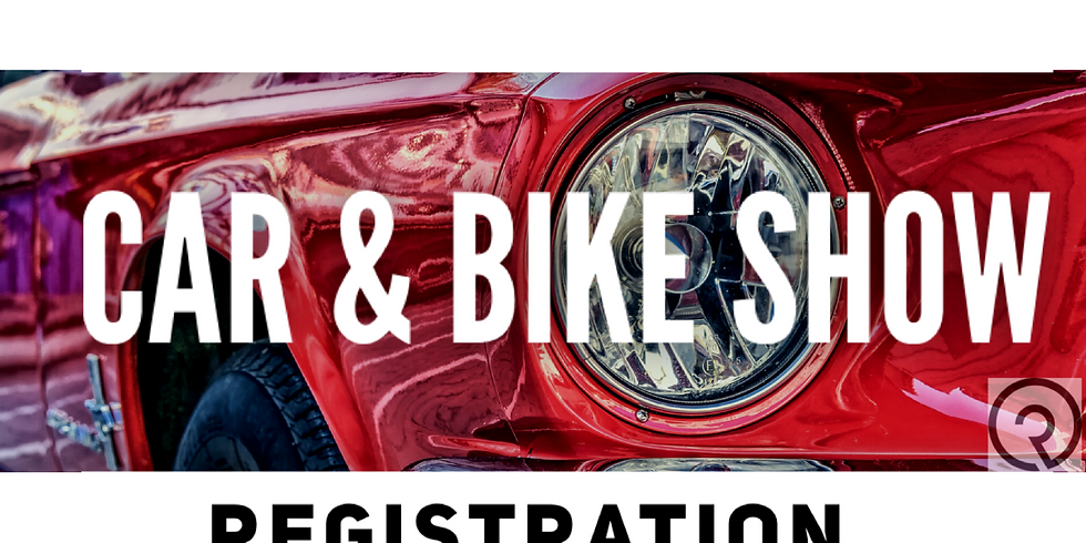 Car & Bike Show Registration