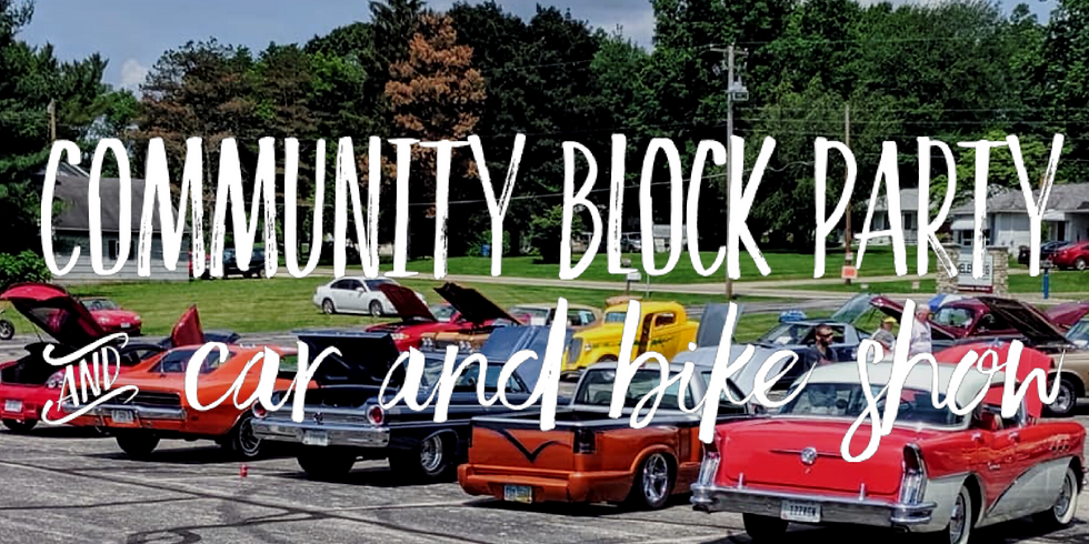 Community Block Party and Car & Bike Show!